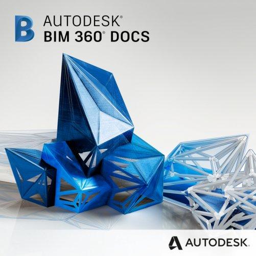 Autodesk BIM 360 Docs, pronájem na 1 rok