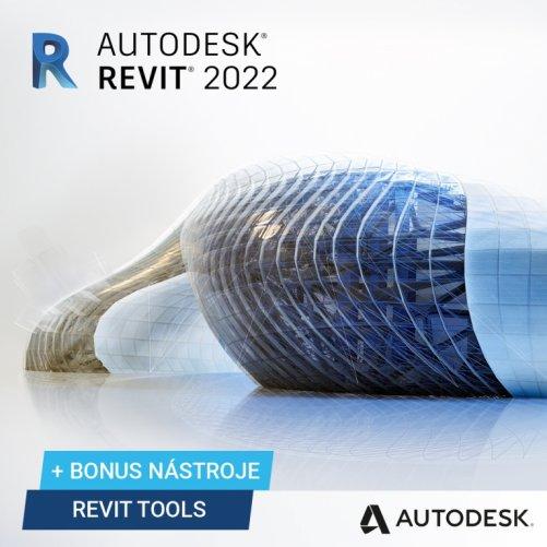 Autodesk Revit 2022+ bonusy CS+, pronájem na 1 rok