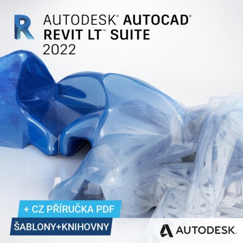 AutoCAD Revit LT Suite 2022 + bonusy CS+, pronájem na 1 rok