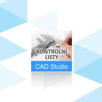 CAD Studio Kontrolní listy, pronájem na 1 rok