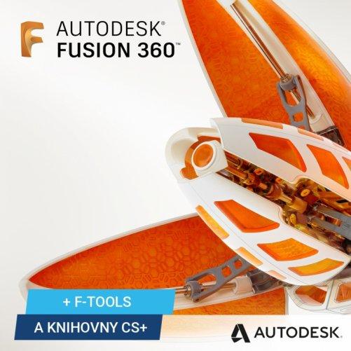 Autodesk Fusion 360 + bonusy, pronájem na 1 rok