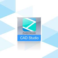 CAD Studio Záborák, pronájem verze 2020/2021/2022 na 1 rok