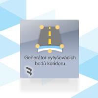 Generátor vytyčovaných bodů koridoru (GVBK)