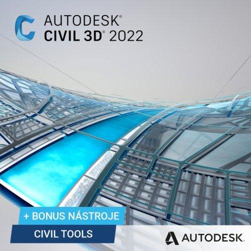 Autodesk Civil 3D 2022 + bonusy  CS+