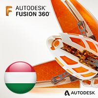 Fusion 360 - hungarian localization, 1 year subscription