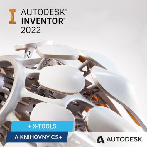 Autodesk Inventor Professional 2022 + bonusy CS+, pronájem na 1 rok