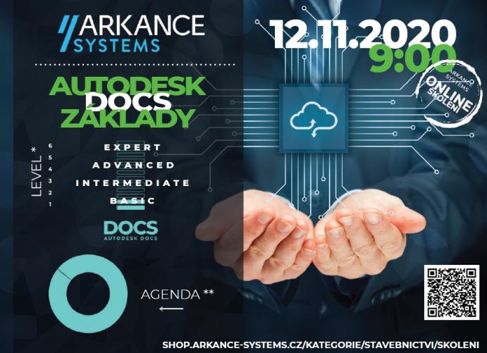 Online školení - AUTODESK DOCS základy, 12.11.2021 od 9:00