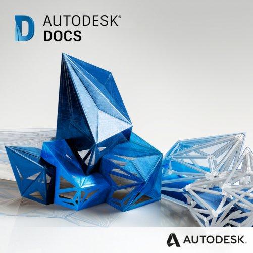 Autodesk Docs, pronájem na 3 roky