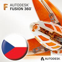 Autodesk Fusion 360 - česká lokalizace, pronájem na 1 rok