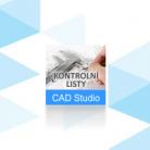 CAD Studio Kontrolní listy
