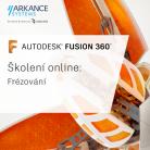 Online školení - Pokročilé možnosti programování 3osých frézovacích center ve Fusion 360