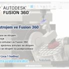 Online školení - Simulace se strojem ve Fusion 360