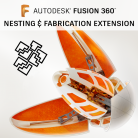 Fusion 360 Nesting & Fabrication Extension