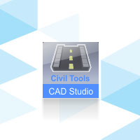 CAD Studio Civil Tools, pronájem na 1 rok