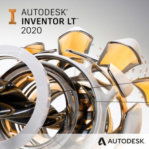 Autodesk Inventor LT 2020 + bonusy  CS+, pronájem na 1 rok