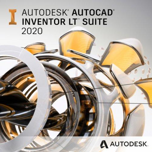 AutoCAD Inventor LT Suite 2020 + bonusy CS+, pronájem na 1 rok