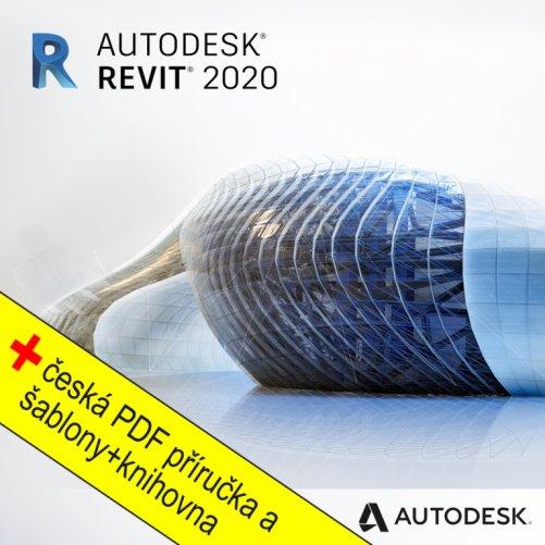 Autodesk Revit 2020 + bonusy CS+, pronájem na 3 roky