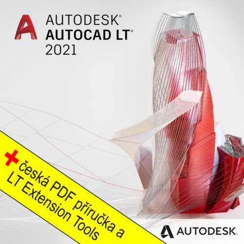 AutoCAD LT 2021  + bonusy CS+, pronájem na 3 roky
