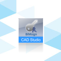 CAD Studio BIMsign, pronájem na 1 rok