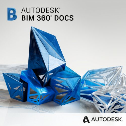 Autodesk BIM 360 Docs, pronájem na 3 roky