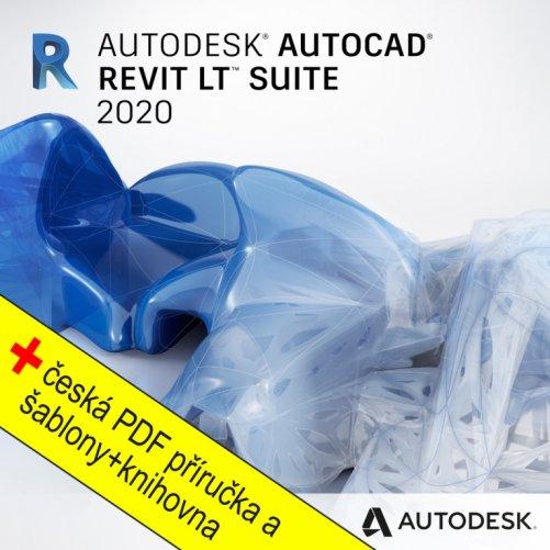 AutoCAD Revit LT Suite 2020 + bonusy CS+, pronájem na 1 rok