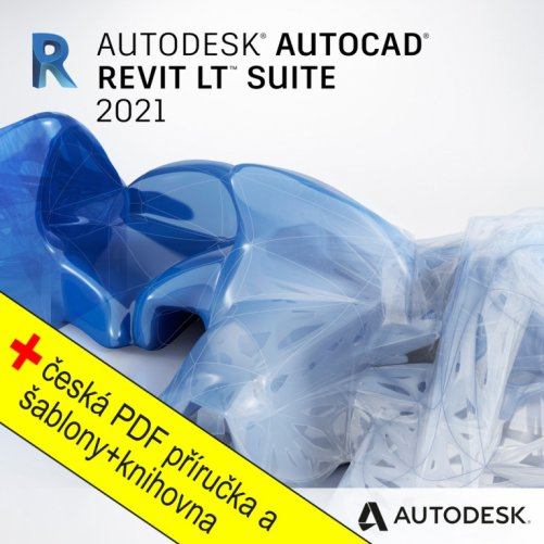 AutoCAD Revit LT Suite 2021 + bonusy CS+, pronájem na 3 roky