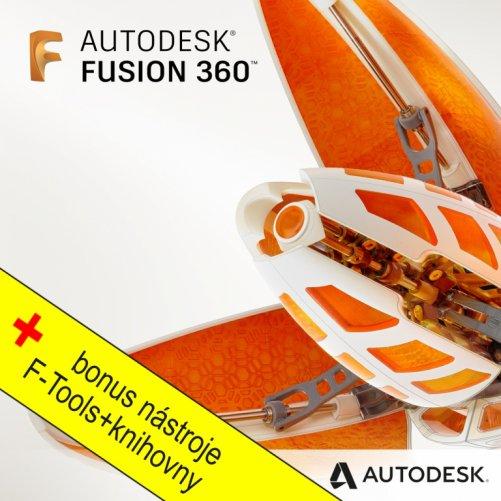 Autodesk Fusion 360 + bonusy, pronájem na 1 rok PROMO ( pouze do 26.01.2021)