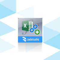 CADStudio XLSparam, New perpetual licence