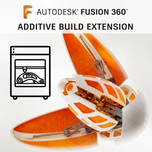 Fusion 360 Additive Build Extension, pronájem na 1 rok