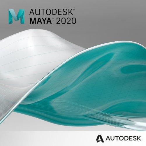 Maya 2020 + bonusy  CS+, pronájem na 1 měsíc s automatickou obnovou