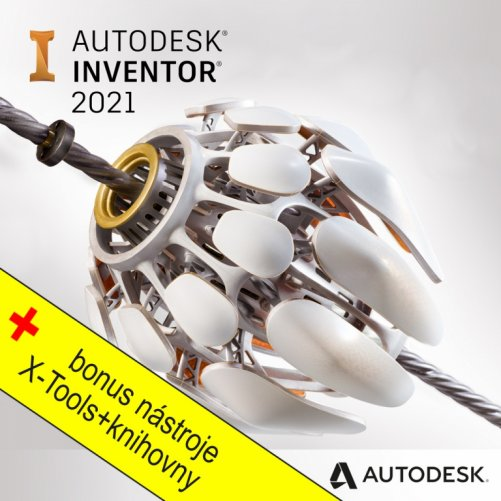 Autodesk Inventor LT 2021 + bonusy  CS+, pronájem na 3 roky