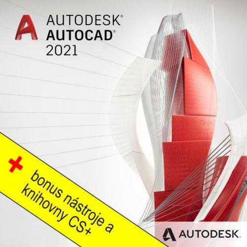 One AutoCAD + bonusy CS+, pronájem na 1 rok