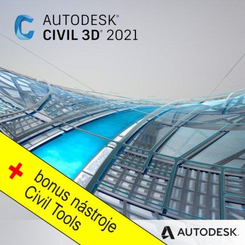 Autodesk Civil 3D 2021 + bonusy  CS+