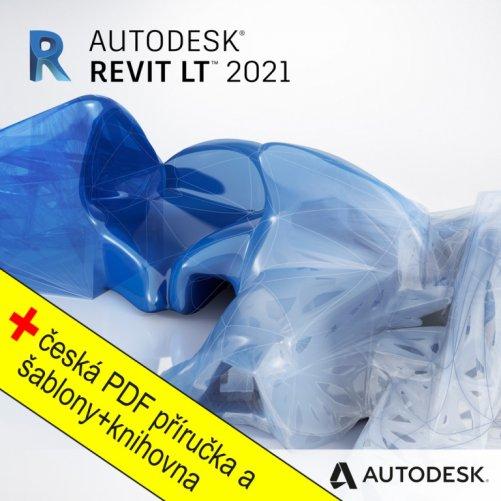 Autodesk Revit LT 2021 + bonusy CS+, pronájem na 3 roky