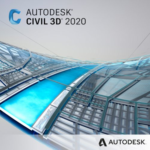 Autodesk Civil 3D 2020 + bonusy  CS+, pronájem na 1 měsíc s automatickou obnovou
